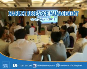 Market Research Management Course @ Sun & Moon Hotel